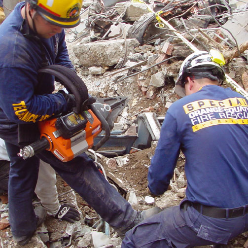 A cut above the rest*Advances in hydraulic machinery have led to smaller, more compact hand-operated and battery-operated tools – all of which can make a USAR team's life a lot easier