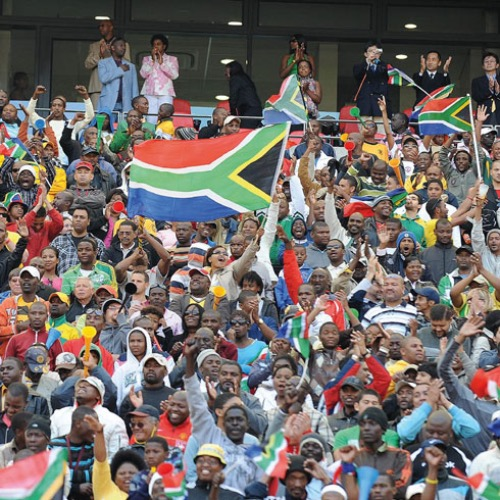 All eyes on South Africa*Less than 70 days to go and the world's attention is focused on South Africa's hosting of the FIFA World Cup, the fi rst ever to be held on the African continent; Hilary Phillips looks at safety and security issues