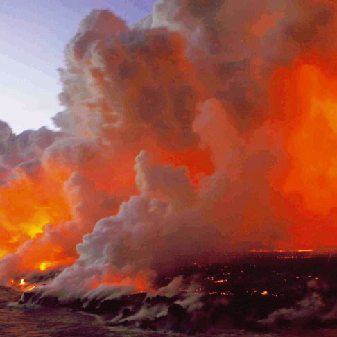 Volcanic eruption in Reunion*This April, the Piton de la Fournaise volcano on the Island of Reunion erupted, causing an exceptional lava fl ow that threatened the environment, health and the safety of the islanders. Here, the region's Fire and Rescue service describes the emergency response