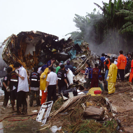 Phuket air crash response*Gareth Marshall looks at the latest disaster to strike Thailand – the crash of flight OG269, which left 90 people dead – and describes the emergency response
