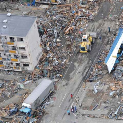 Japan's terrible disaster*Emily Hough summarises events that began with a magnitude 9.0 earthquake in Japan, followed by a devastating tsunami that swept miles inland, made even worse by freezing cold temperatures and compounded by the failure of a nuclear reactor