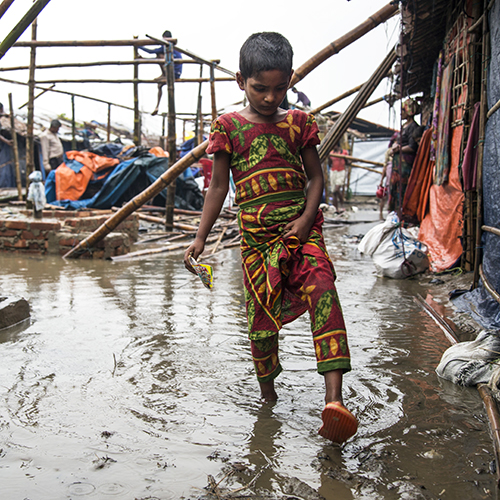 Rohingya refugee crisis*James McArthur and Jörg Szarzynski look at how geospatial technology is helping to make refugee camps safer