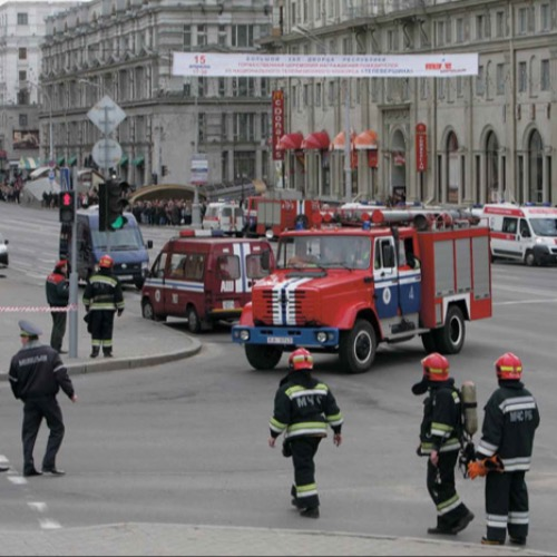Terror on Minsk Underground*On April 11, 2011, at 17:55hrs local time (15:55hrs GMT) an explosion at Oktyabrskaya (October) station on the Minsk underground in Belarus took the lives of 15 people and wounded about 200 others, says Lina Kolesnikova