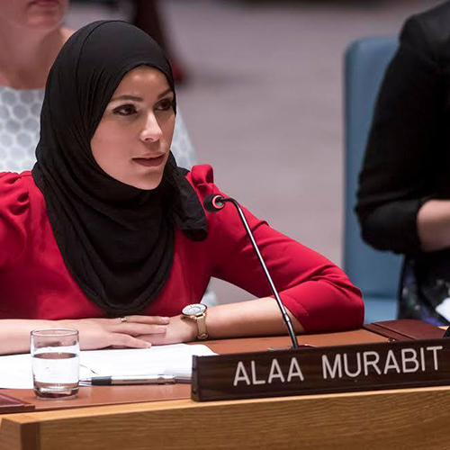 Giving voice to young women in global security*Emily Hough speaks to Alaa Murabit, a Libyan-Canadian doctor and international advocate for the rights of women and young people, who says that we need to reintroduce compassion, care, and empathy into global security and policy