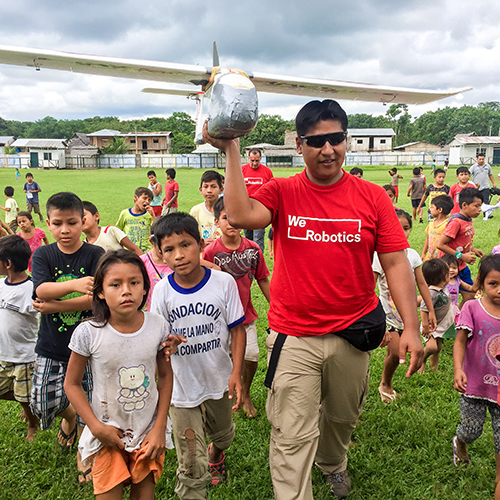 Localising robotics for good*This issue, Andrew Schroeder describes how the Flying Labs – where local people work on how to apply drones for good in their country before a crisis hits – were set up and how the concept has developed