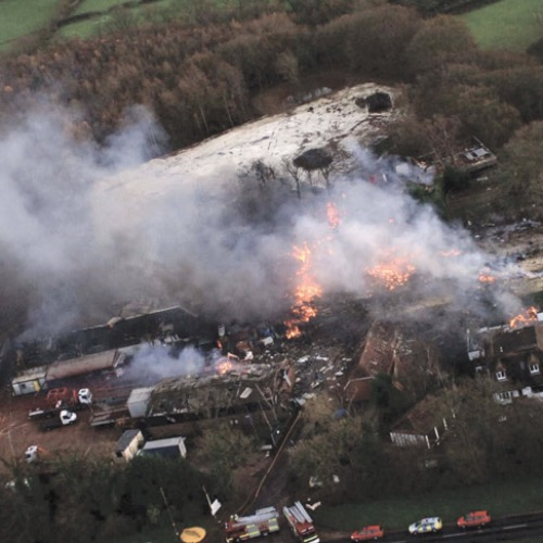 Fireworks blast in East Sussex*East Sussex Fire and Rescue Service (UK) describes a fi reworks explosion which killed two firefighters, while Nick Wilkinson of Sussex Police provides an overview of Operation Silverton, aimed at minimising the incident's impact on the community