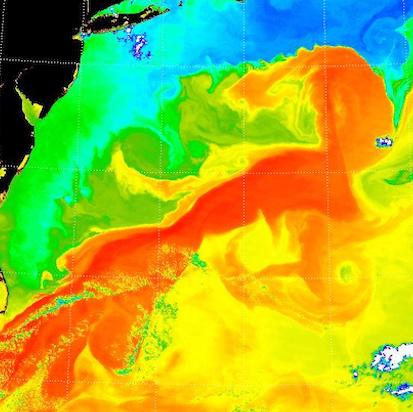 The slowing Gulf Stream* March 2021: A recent study suggests that the Gulf Stream is at its weakest for a thousand years, with potential consequences for both sides of the Atlantic